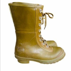 Converse VINTAGE Insulated rubber lace up boots 8